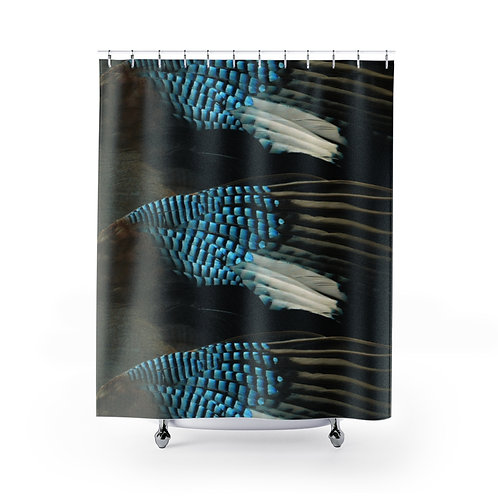 Blue Jay - Shower Curtains