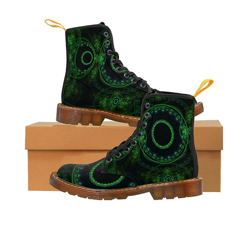 Forest - Women's Canvas Boots
