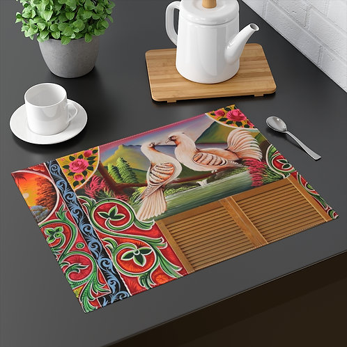 Lovey Doves - Placemat