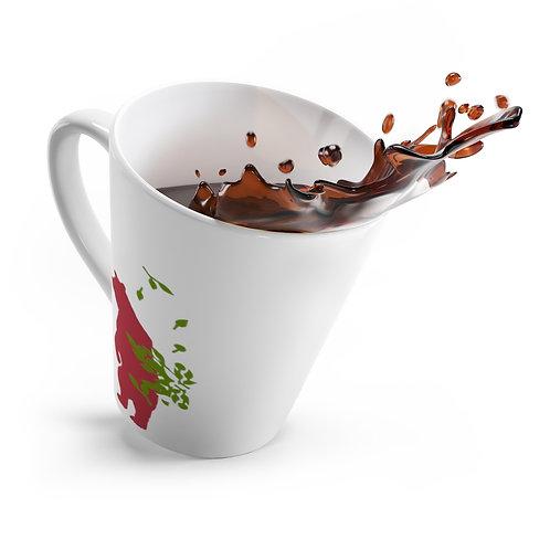 Red Bear - Latte mug