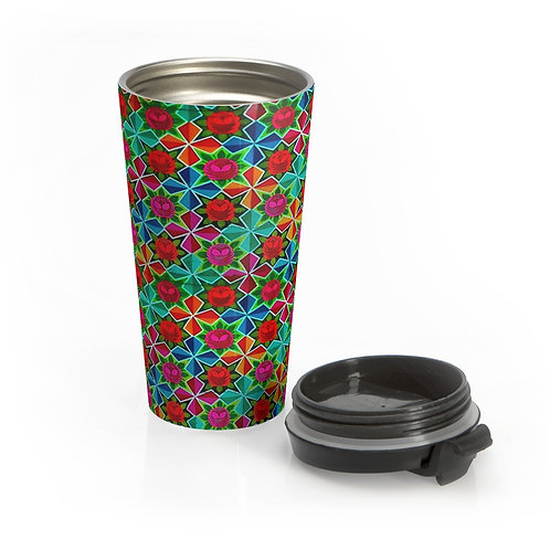 Bloom - Stainless Steel Travel Mug