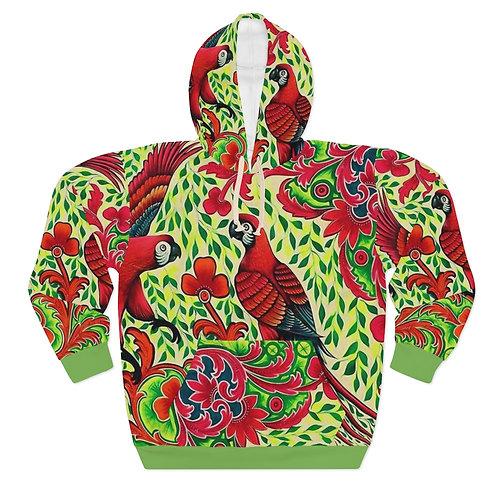 Parrots - AOP Unisex Pullover Hoodie