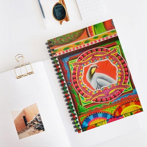Chukar - Spiral Notebook - Ruled Line