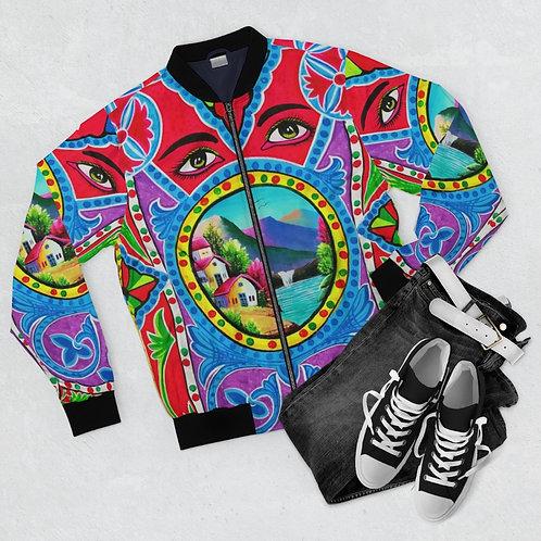 Your Eyes - Men's AOP Bomber Jacket