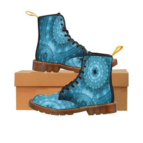 Pond Men's Canvas Boots, Brown Sole