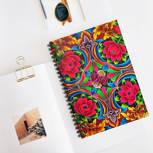 Rosy - Spiral Notebook - Ruled Line