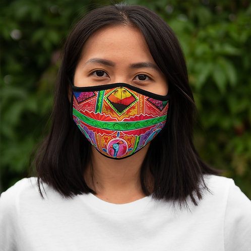Sunset - Fitted Polyester Face Mask