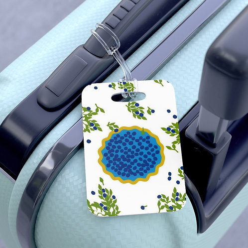 Blueberry Pie - Bag Tag