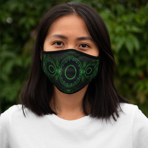 Forest - Fitted Polyester Face Mask