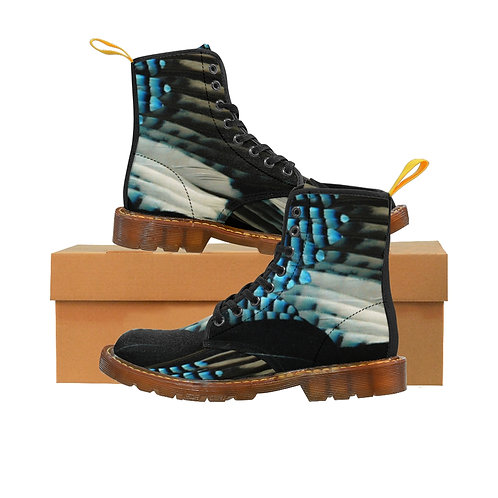 Blue Jay Women's Canvas Boots, Brown Soles