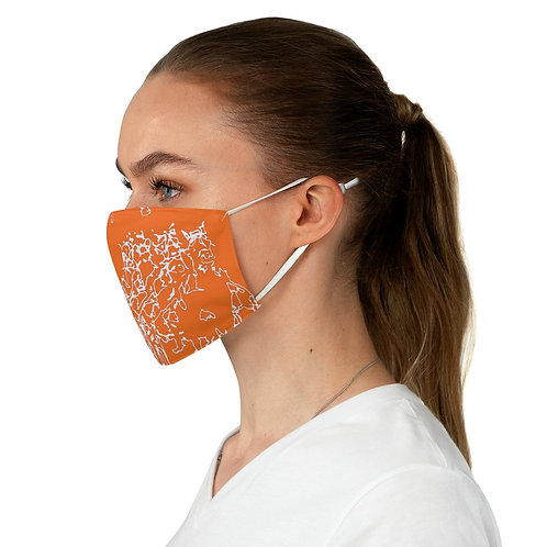 Races - Fabric Face Mask
