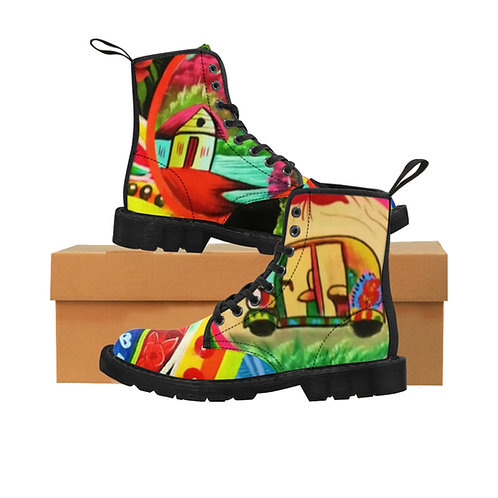 Riksha - Men's Canvas Boots