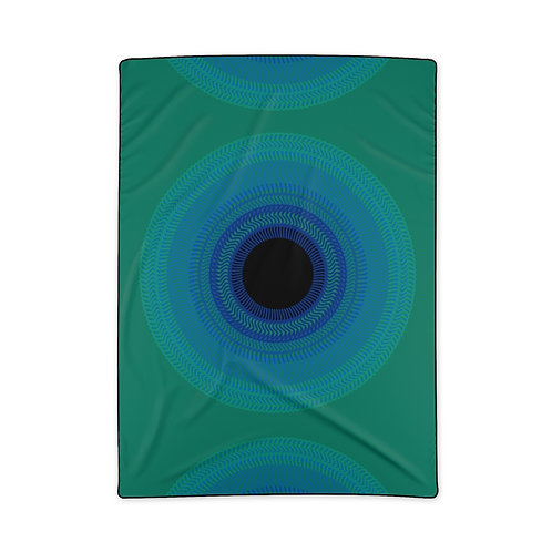 Blue Moon - Polyester Blanket