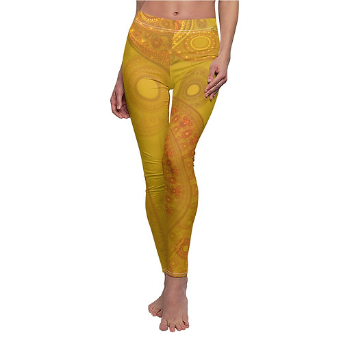 Lapponia - Women's Cut & Sew Casual Leggings