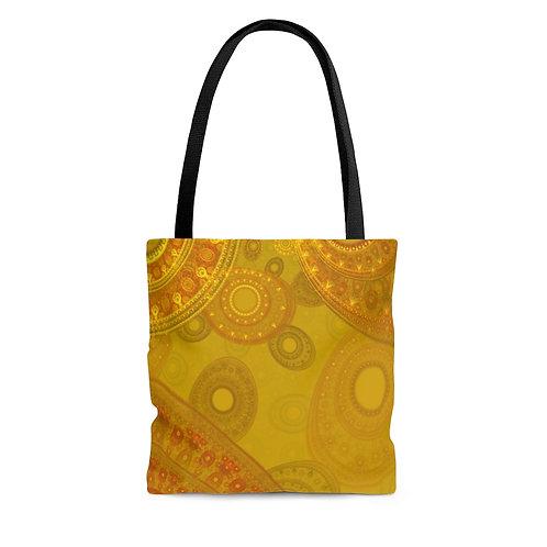 Lapponia - Fractal Design AOP Tote Bag