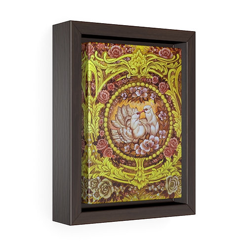 Kiss - Framed Premium Gallery Wrap Canvas