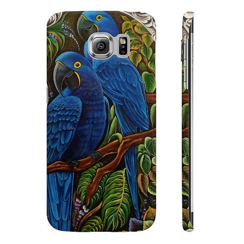 Blue Macaw - Wpaps Slim Phone Cases