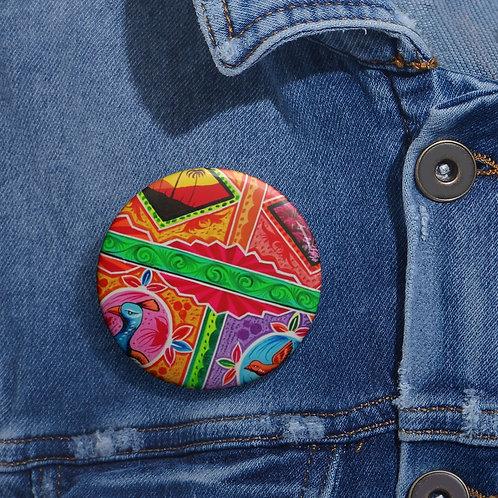 Sunset - Pin Buttons