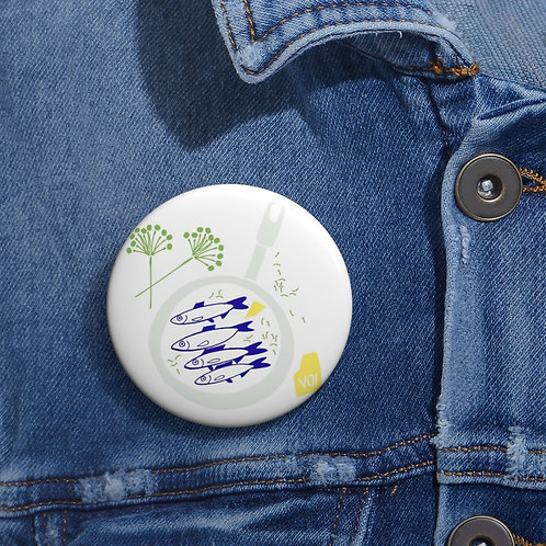 Herrings - Pin Buttons