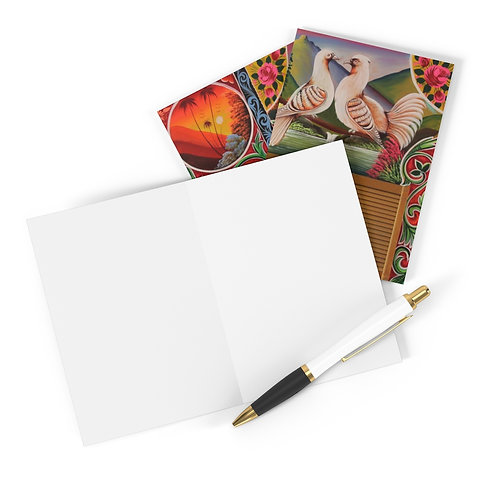 Lovey Doves - Greeting Cards (8 pcs)
