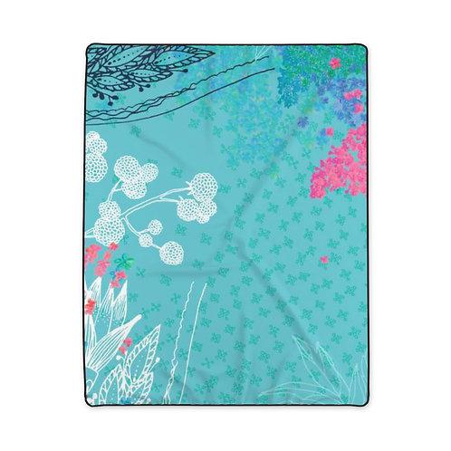 Secret Garden - Polyester Blanket