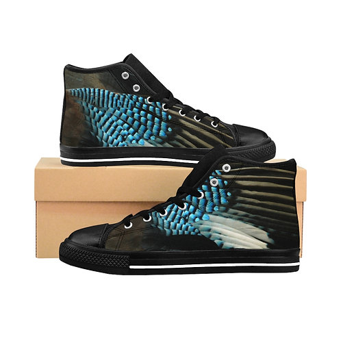 Blue Jay - Women's High-top Sneakers