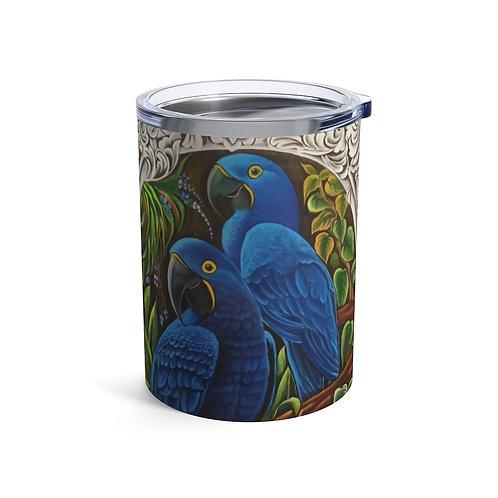 Blue Macaw - Tumbler 10oz