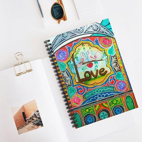 Love - Spiral Notebook - Ruled Line
