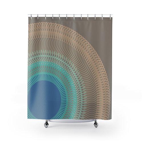 Misty Moon - Shower Curtains