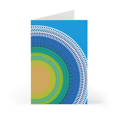 Planet Earth - Greeting Cards (7 pcs)