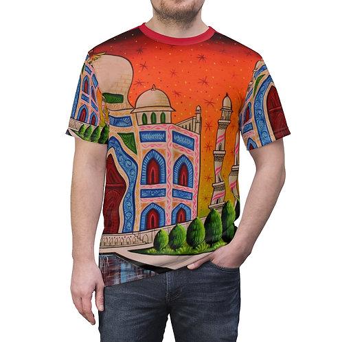 Taj Mahal - Unisex AOP Cut & Sew Tee