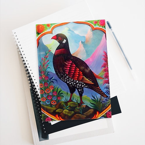 Black Partridge - Journal - Ruled Line