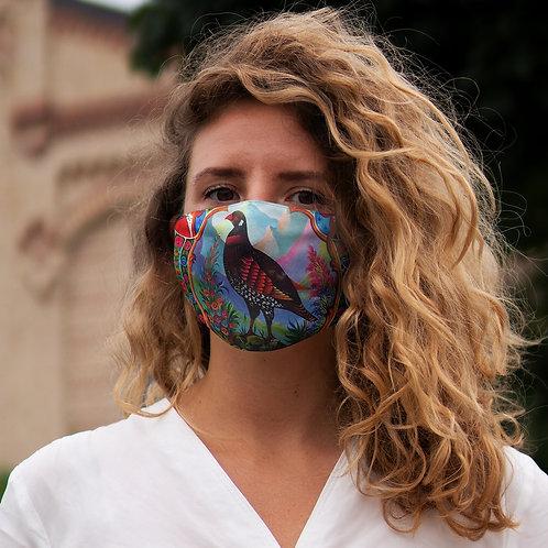 Black Partridge - Snug-Fit Polyester Face Mask