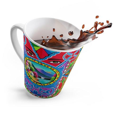 Your Eyes - Latte mug