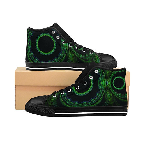 Forest - Women's High-top Sneakers