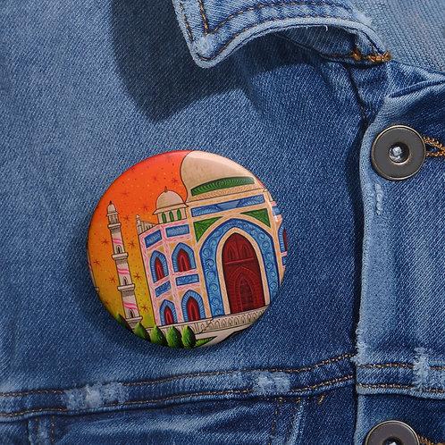 Taj Mahal - Pin Buttons