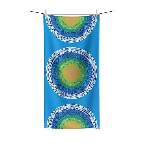 Planet Earth Polycotton Towel
