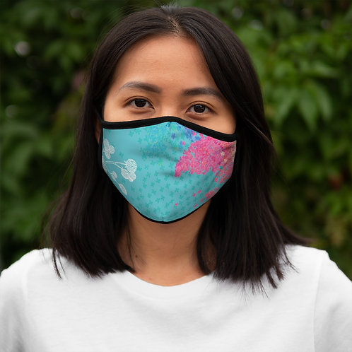 Secret Garden - Fitted Polyester Face Mask