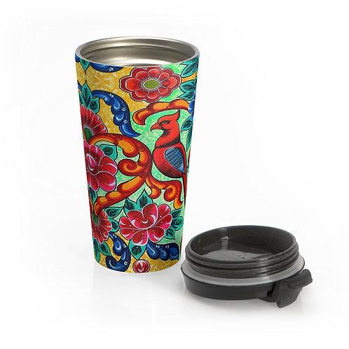 Red Birds - Stainless Steel Travel Mug