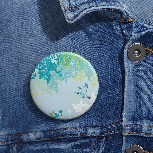 White Night - Pin Buttons