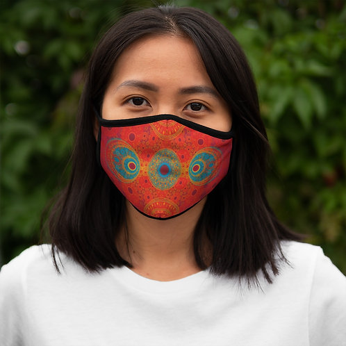 Rainbow - Fitted Polyester Face Mask