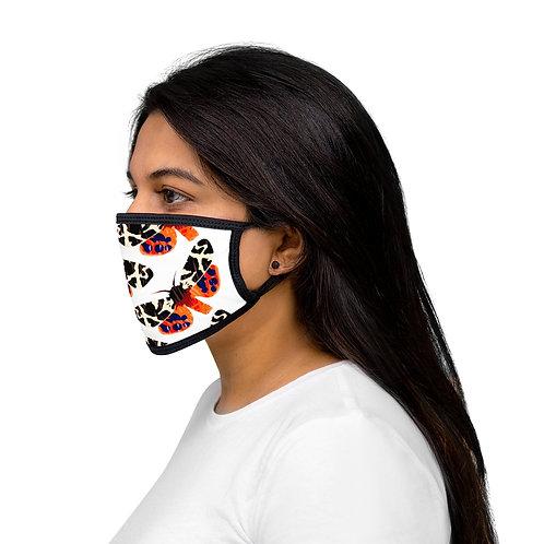 Moth - Mixed-Fabric Face Mask