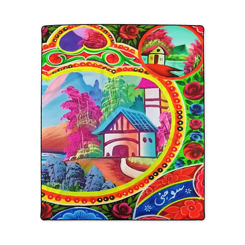 Sweet Home - Polyester Blanket