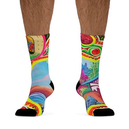 Sweet Home - DTG Socks