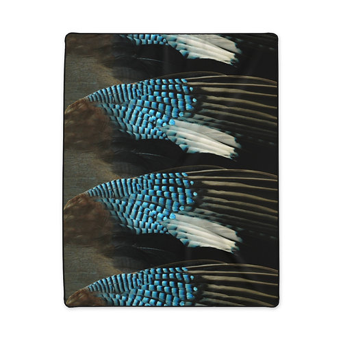 Blue Jay - Polyester Blanket