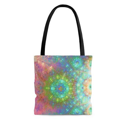 Frost - Fractal Design AOP Tote Bag
