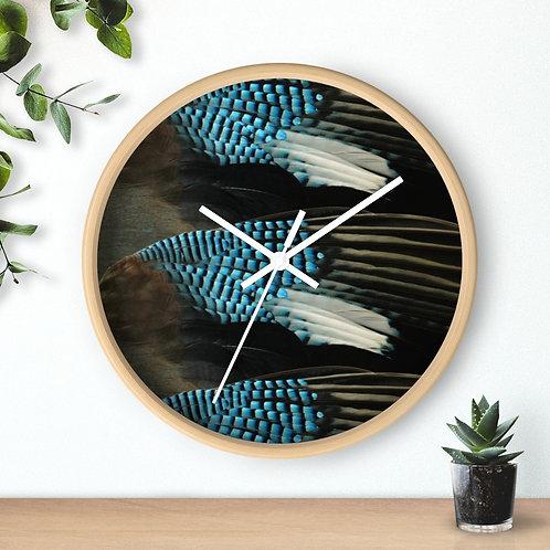 Blue Jay - Wall clock