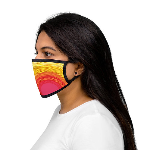 Planet Sun - Mixed-Fabric Face Mask