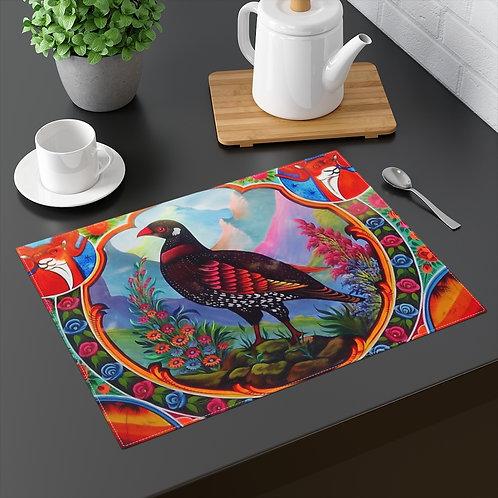 Black Partridge - Placemat