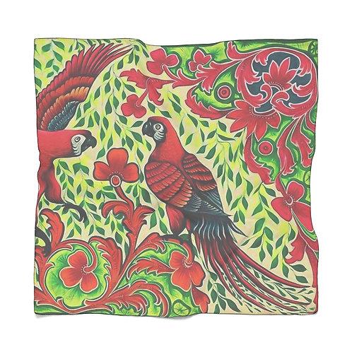 Parrots Poly Chiffon